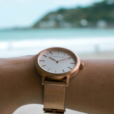 FOXLEIGH ROSE GOLD MESH