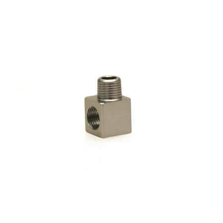 FPR 1/8 NPT MALE - 1/8 NPT FEMALE 90° FITTING  TS-0402-1123
