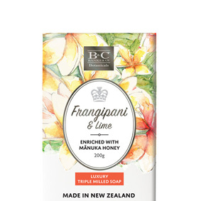Frangipani & Lime Luxury Soap