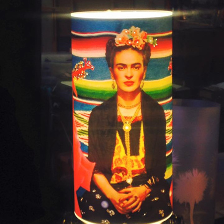 Freda Kahlo Lamp - Zamm Lights
