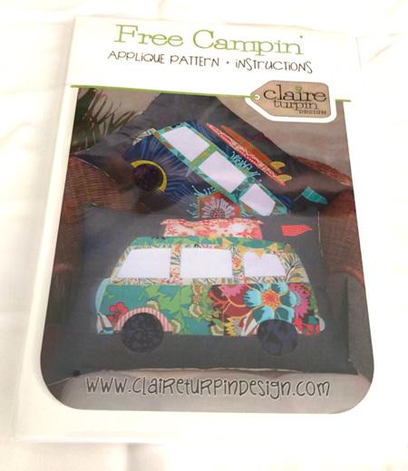 Free Campin Cushion Pattern
