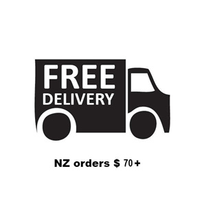 Free delivery on NZ orders $70 and more