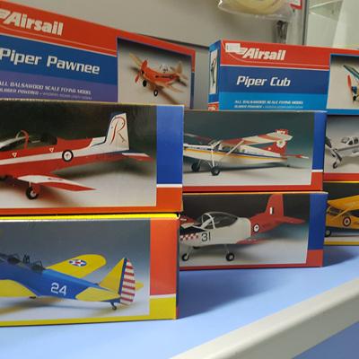 Free Flight Models