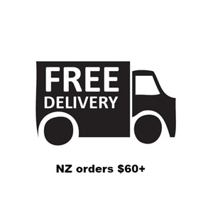 Free NZ delivery on orders $60 and more