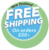 Free Shipping on orders $50+ (NZ only)