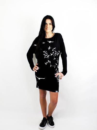 FREE SPIRIT BATWING DRESS