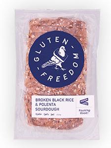 Freedom GF Broken Black Rice & Polenta Sourdough Bread - 550g