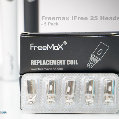 Freemax iFree 25 Replacement Heads - 5 Pack