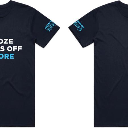 Freeze Ya Bits Off Busking Male T-Shirt