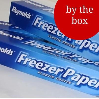 Freezer paper BOX