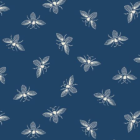 French Bee Indigo Bees A-9084-B3