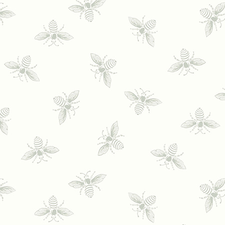 French Bee White Wisp Bee A-9084-LC1
