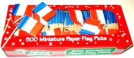 French Flag Picks x 20