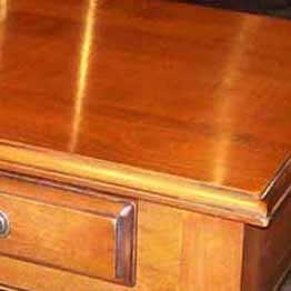 French Gold Stain Antique Wax Finish