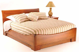 Mulhouse Sleigh Bed Low End