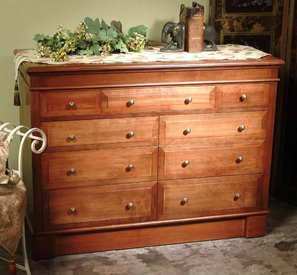 Mulhouse Nine Drawer Lowboy