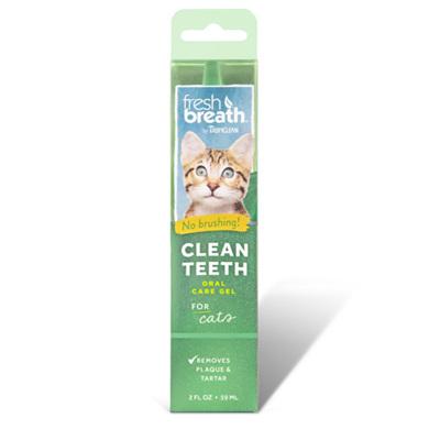 Fresh Breath & Clean Teeth Gel for Cats