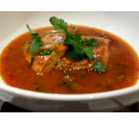 Fresh fish poached in a light & fragrant sauce