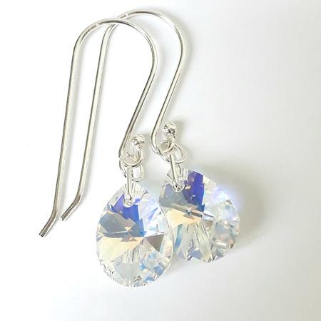 FREYA - Crystal Clear (AB) Teardrops