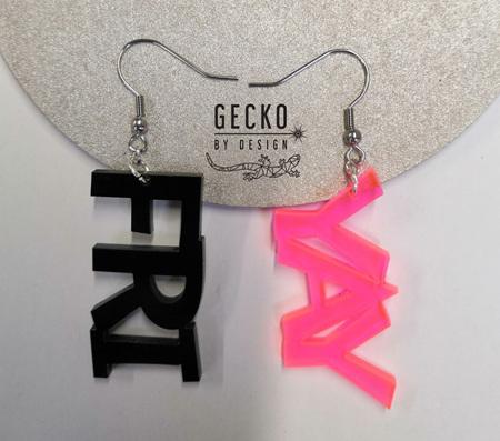 FRI YAY Acrylic Earrings