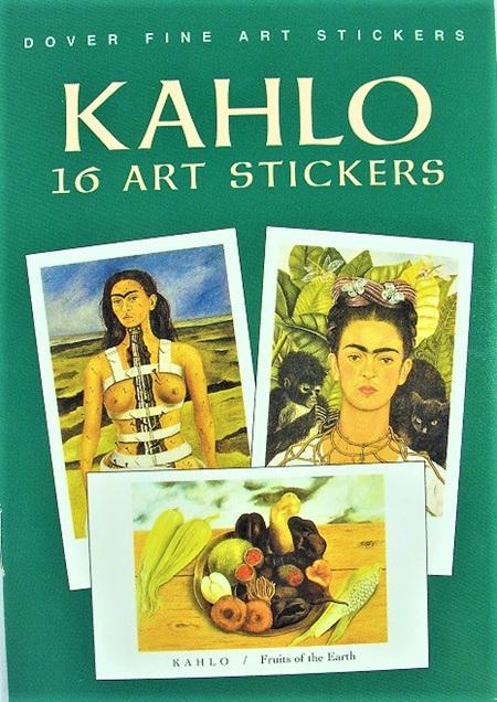 Frida Kahlo: 16 Art Stickers