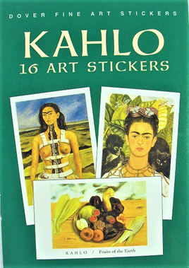 Frida Kahlo: 16 Art Stickers