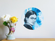 Frida Kahlo dot wall decal