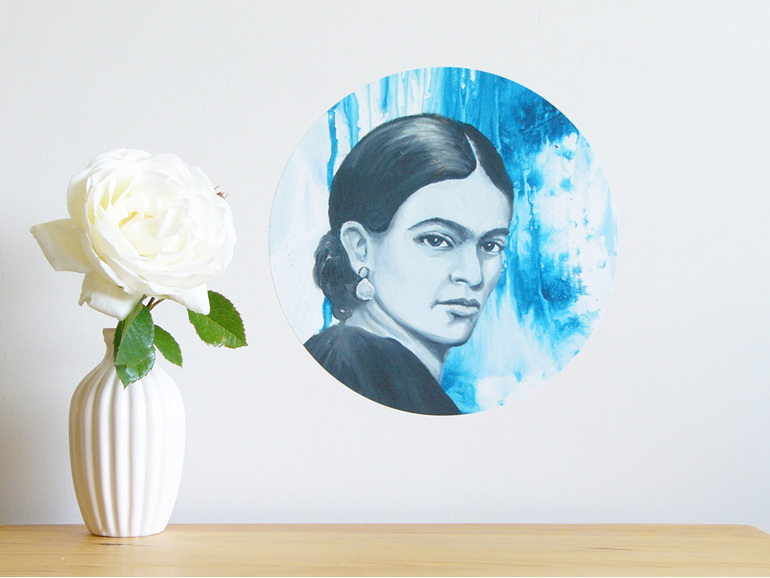 Frida Kahlo wall decal