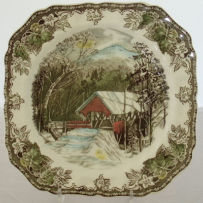 Friendly Village plate