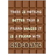 Friends Choc Fridge Magnet