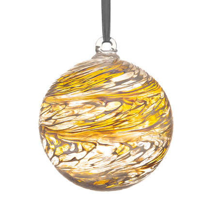 Friendship Ball 15cm Pastel Gold + Stand