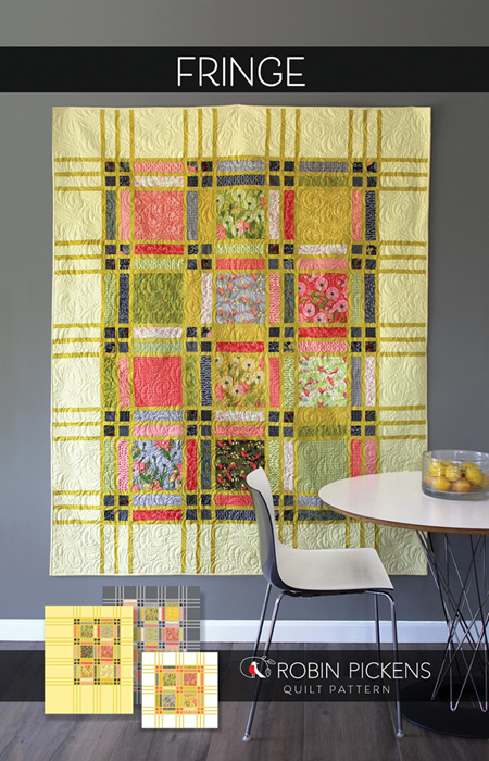 Fringe Quilt Pattern by Robin Pickens