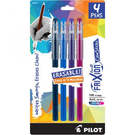 Frixion ColorSticks Colorsticks Asst 4Pk