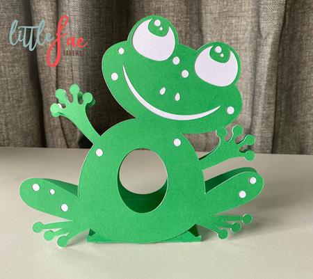 Frog Easter Egg Holder