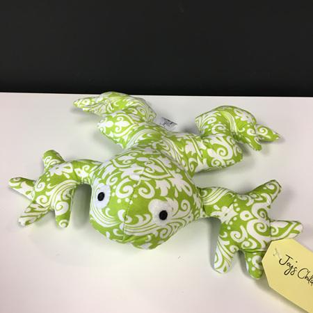 Frog - Green Swirls