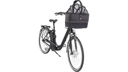 Front Bicycle Basket Black