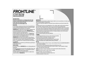 FRONTLINE PLUS for Cats - Six Pack