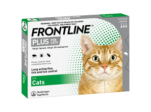 FRONTLINE PLUS for Cats - Triple Pack