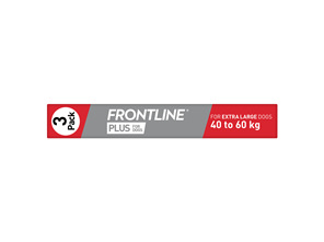 FRONTLINE PLUS for Dogs - 40.1-60kg