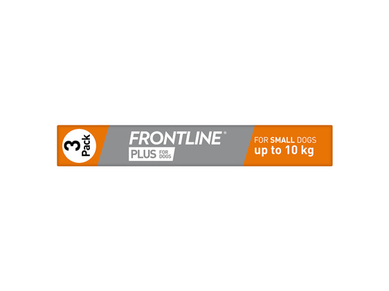 FRONTLINE PLUS for Dogs - Up to 10kg
