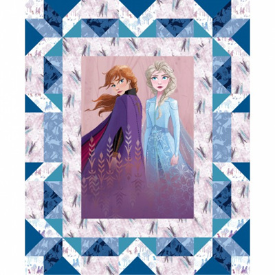 Frozen 2 - Faux Quilt Panel