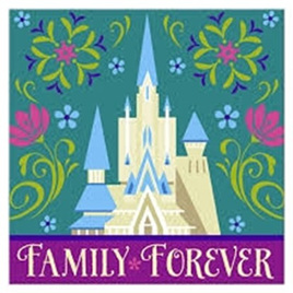 Frozen - Beverage Napkins x 16