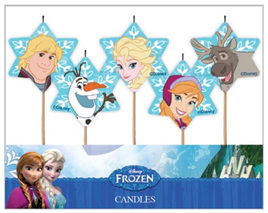 Frozen Candles x 5