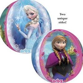 Frozen huge 40cm Foil Helium Balloon