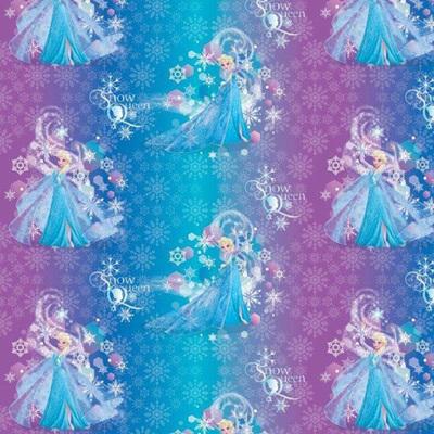 Frozen Satin - Elsa Rainbow