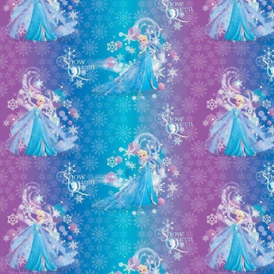 Frozen Satin - Elsa Rainbow