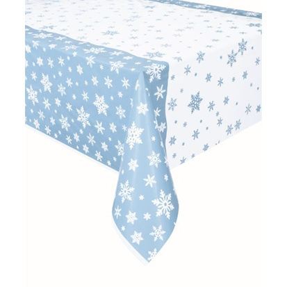 Frozen / snowflakes plastic tablecover
