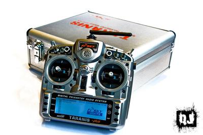 FrSky Taranis X9D Plus 2.4GHz ACCST Radio w/ Alu case