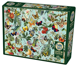 Cobble Hill 1000 Piece Jigsaw Puzzle: Fruit & Flutterbies