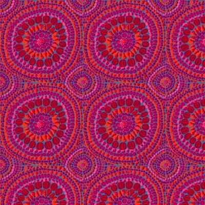 Fruit Mandala Pink - Extra Wide Backer